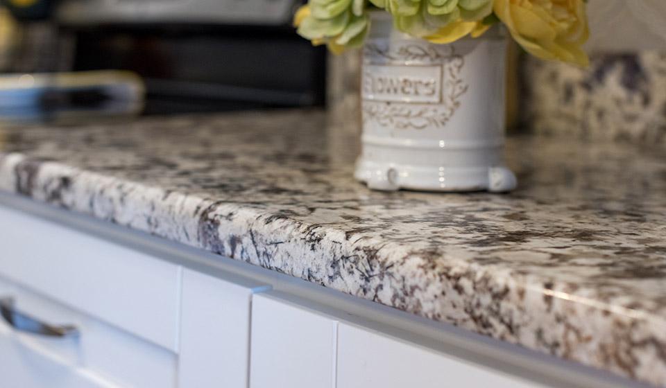 kitchen in FL with granite countertops